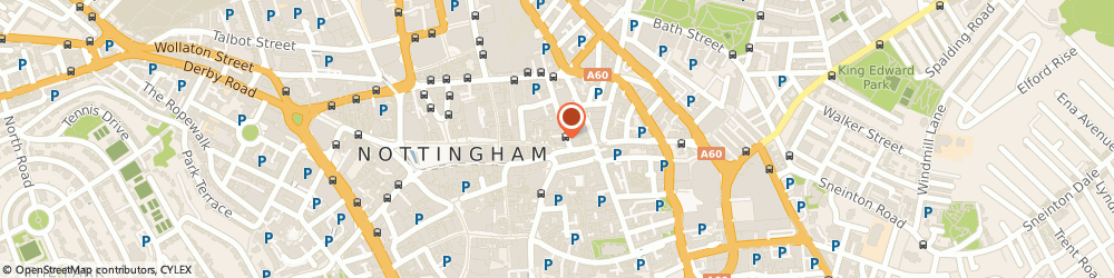 Route/map/directions to Lloyds No.1 Bar Nottingham, NG1 1NL Nottingham, 1 Carlton St