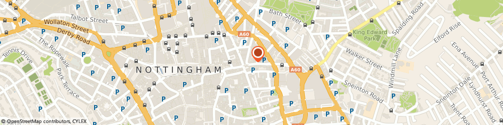 Route/map/directions to Baa Bar, NG1 1FE Nottingham, 17-19 GOOSE GATE