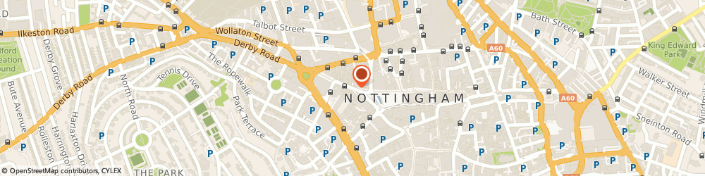 Route/map/directions to Angel Row Gallery, NG1 6HP Nottingham, 3 Angel Row