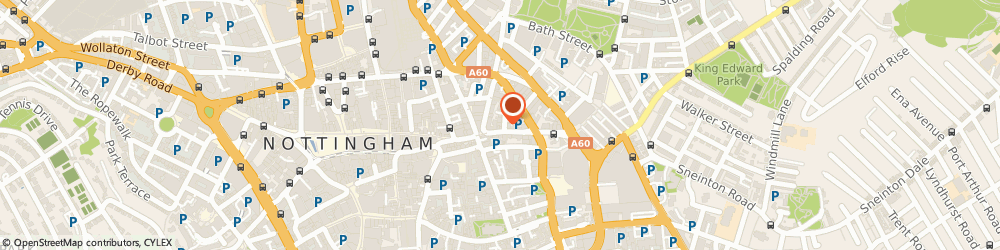 Route/map/directions to Rafaels Breeze Bar, NG1 1FE Nottingham, 31-35, GOOSE GATE, HOCKLEY