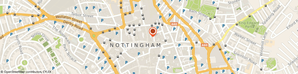 Route/map/directions to Greggs, NG1 3GA Nottingham, 4 Clumber Street