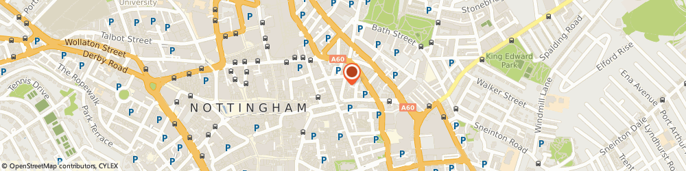 Route/map/directions to V a a S, NG1 3AA Nottingham, 20-22 HEATHCOAT STREET