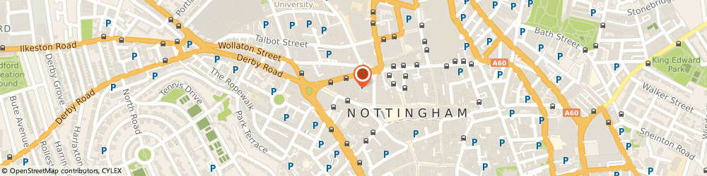Route/map/directions to Hairport Barbershop, NG1 6JD Nottingham, 18 Hurts Yard