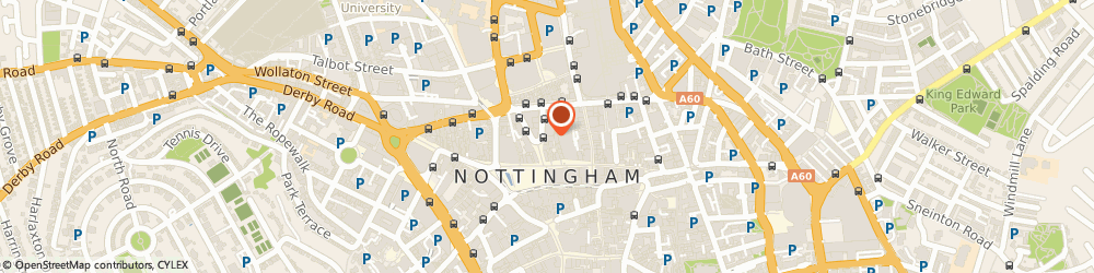 Route/map/directions to Zizzi, NG1 2AS Nottingham, 12 King Street