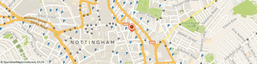 Route/map/directions to Computacare Ltd, NG1 3AA Nottingham, 24 HEATHCOAT STREET