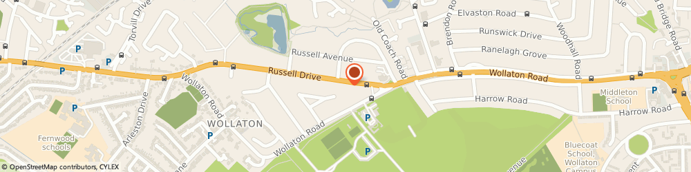 Route/map/directions to Proclaim Marketing, NG8 2BA Nottingham, 27 Russell Dr