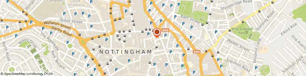 Route/map/directions to The art Room, NG1 3BE Nottingham, 21 GEORGE STREET