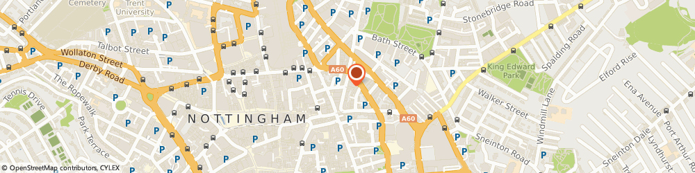 Route/map/directions to Jamcafe Ltd, NG1 3AA Nottingham, 12 Heathcoat St