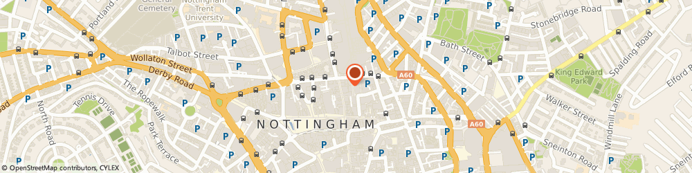 Route/map/directions to Sports Direct - Nottingham, NG1 3GA Nottingham, 28 Clumber Street