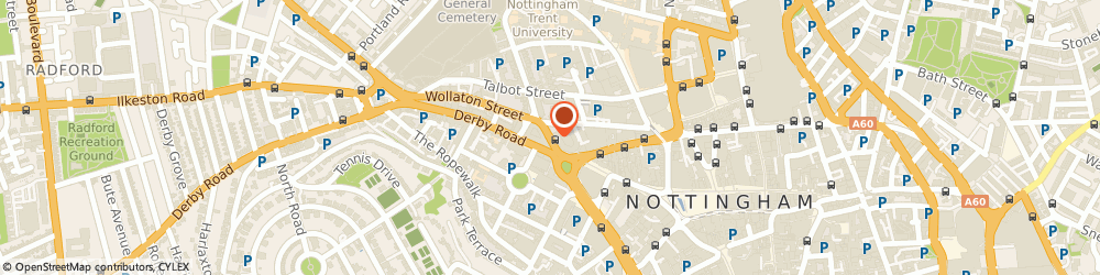 Route/map/directions to Illustr8, NG1 5FS Nottingham, 727 Tollhouse Hill