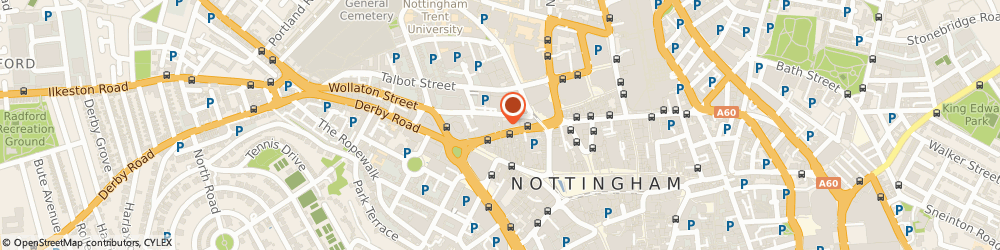 Route/map/directions to Phoenix Property Services Nottingham Limited, NG1 5GF Nottingham, WHITE HOUSE, WOLLATON STREET