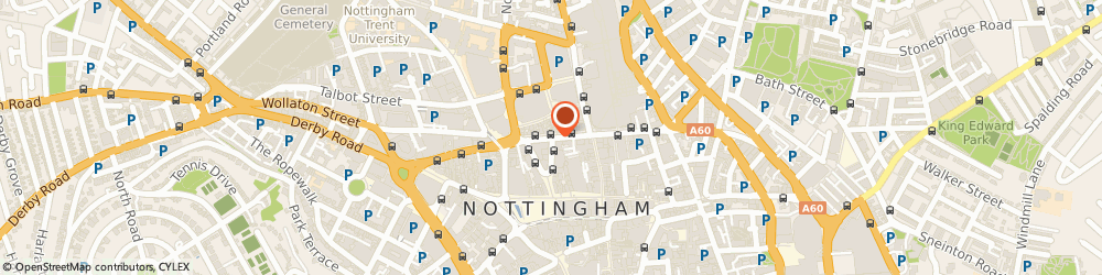 Route/map/directions to Powerhouse Fitness, NG1 2BP Nottingham, 31 Upper Parliament St