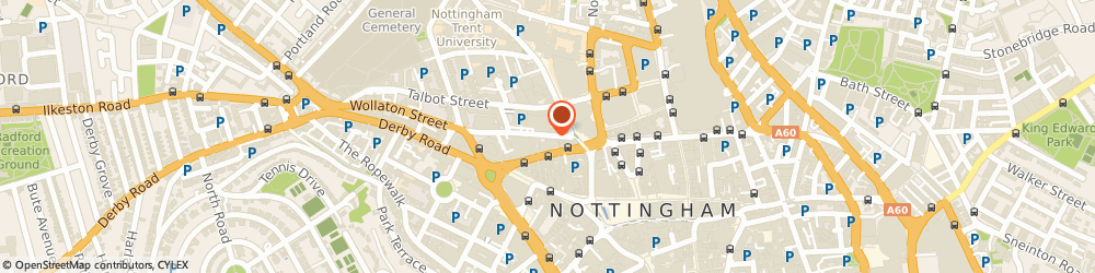 Route/map/directions to Club Motivation, NG1 5RH Nottingham, Wollaton Street