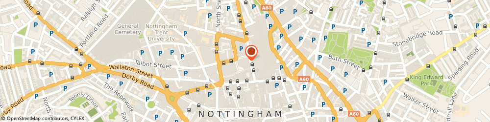 Route/map/directions to KFC, NG1 3EN Nottingham, 23-25 Milton Street