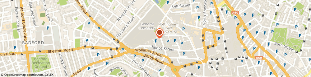 Route/map/directions to OPEN HOMES NOTTINGHAM, NG1 5GL Nottingham, 104-114 Talbot Street