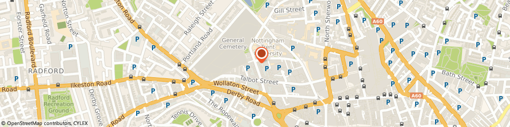 Route/map/directions to Botham Accounting Limited, NG1 5HQ Nottingham, 14 Clarendon Street