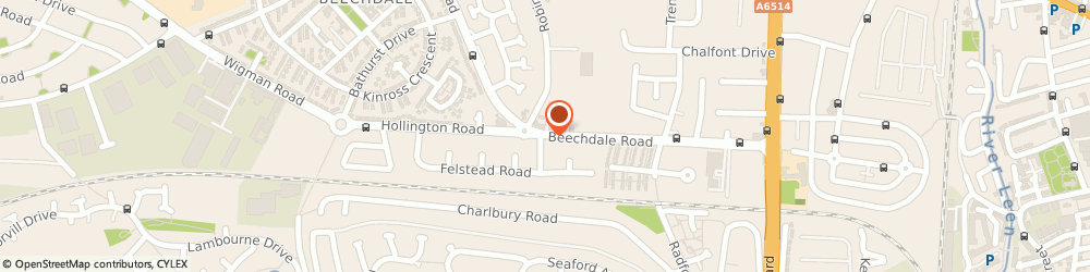 Route/map/directions to Keith Hodgson Decorator Limited, NG8 3LG Nottingham, 446 Beechdale Road