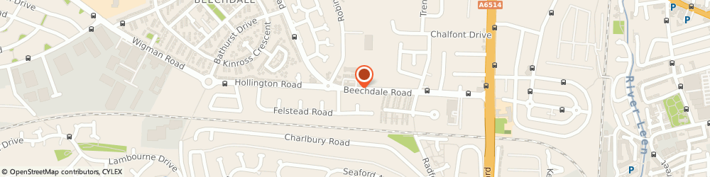 Route/map/directions to Beechdale Barbers, NG8 3LF Nottingham, 447 Beechdale Rd