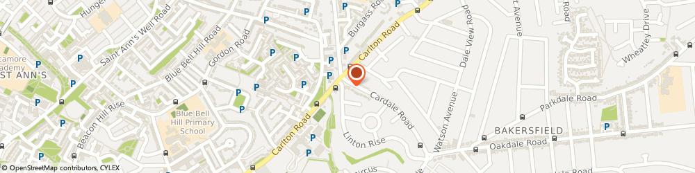 Route/map/directions to Creations, NG3 7BS Nottingham, 4 Cardale Rd