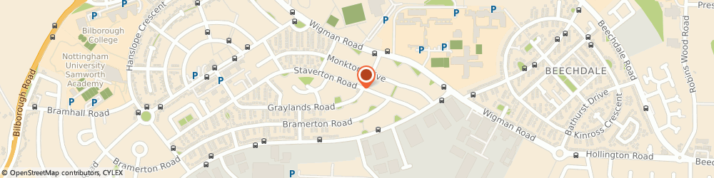 Route/map/directions to Premier - Billborough Convenience Store, NG8 4FG Nottingham, 18 Graylands Road