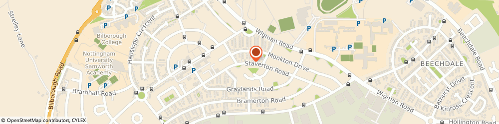 Route/map/directions to Profile Computers, NG8 4EW Nottingham, 57 STAVERTON ROAD