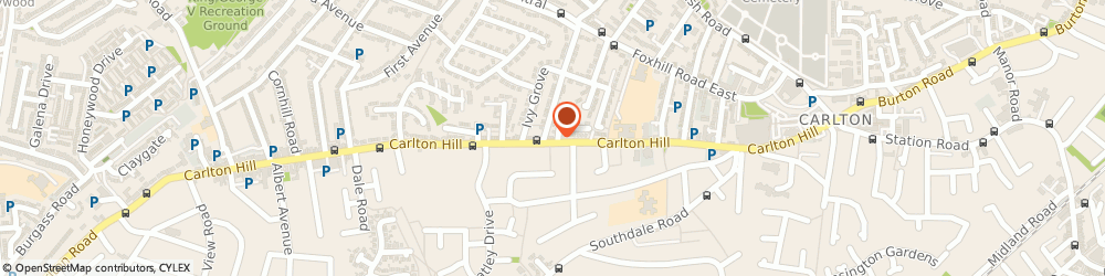 Route/map/directions to Fearns Of Carlton, NG4 1FS Nottingham, 170 Carlton Hill