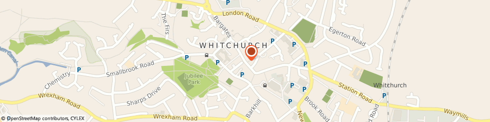 Route/map/directions to Whitchurch Town Council, SY13 1AX Whitchurch, High St
