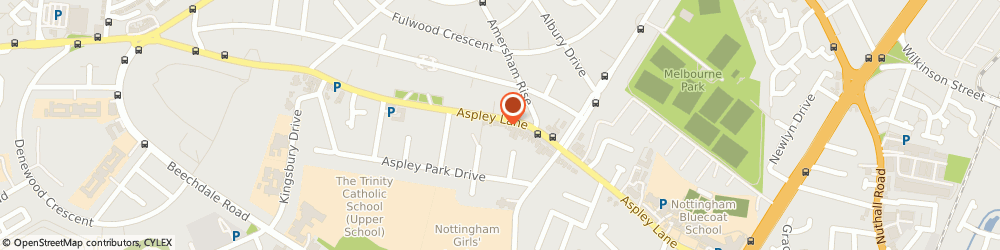 Route/map/directions to Aspley Pet Supplies, NG8 5RR Nottingham, 405 Aspley Ln