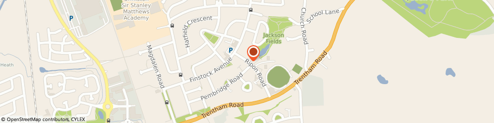Route/map/directions to Tollgate Hotel & Leisure, ST3 3BS Stoke-On-Trent, Ripon Rd