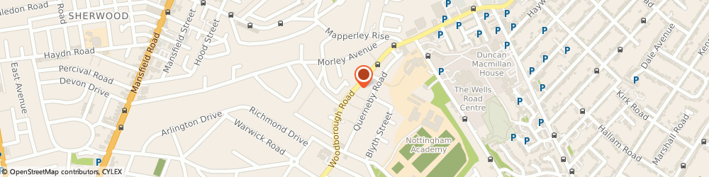 Route/map/directions to C & n Car Wash, NG3 5GJ Nottingham, 604 WOODBOROUGH ROAD