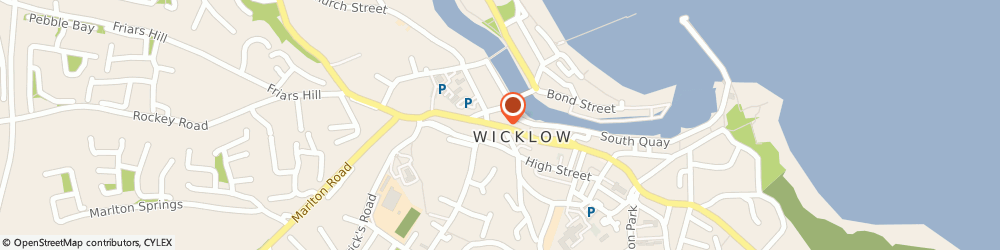 Route/map/directions to WICKLOW SKIP HIRE,  Wicklow, 25 Main St