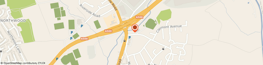 Route/map/directions to Hanford Test Centre, ST4 4QB Stoke-On-Trent, 17-19 Church Ln