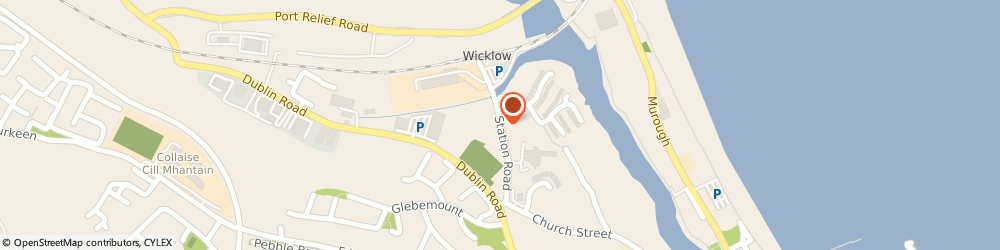Route/map/directions to Wicklow Skip Hire,  Wicklow, Station Road
