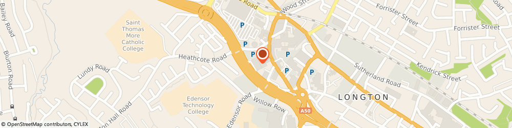 Route/map/directions to DPD Parcel Shop Location - Matalan, ST3 2JR Stoke-On-Trent, Heathcote Road