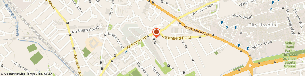 Route/map/directions to Direct Valet, NG5 1LY Nottingham, 1 FENTON ROAD