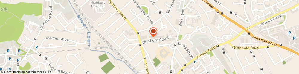 Route/map/directions to Tint R, NG6 0DE Nottingham, 1 Vernon Place Northern Court