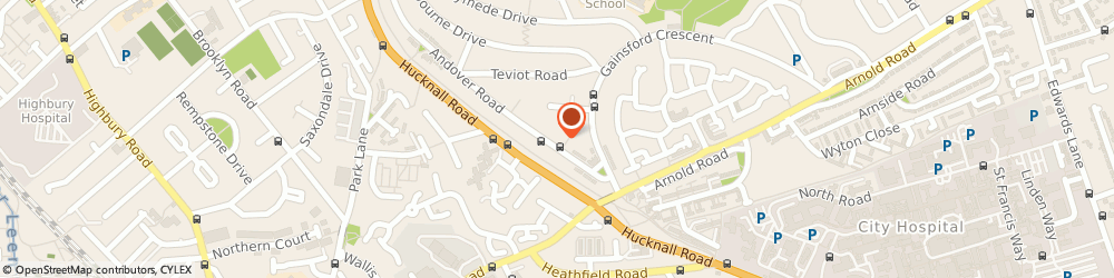 Route/map/directions to Dudes Barbers, NG5 5FF Nottingham, 6 Andover Rd