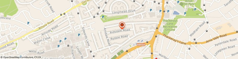 Route/map/directions to Mike Palfrey, NG5 3GQ Nottingham, 11 MUSTERS RD, THE WELLBEING CENTRE