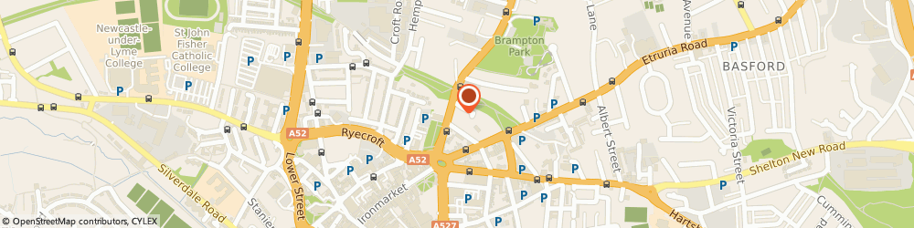 Route/map/directions to Reliance Vehicle Management Limited, ST5 1ED Newcastle, 10 Queen Street