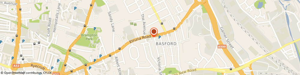 Route/map/directions to Howard's Electrical Limited, ST4 6HH Stoke-On-Trent, 551 Etruria Rd