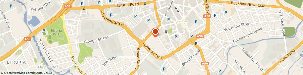 Route/map/directions to Wilkes Bros, ST1 4HE Stoke-On-Trent, Crown Street Garage Crown Street
