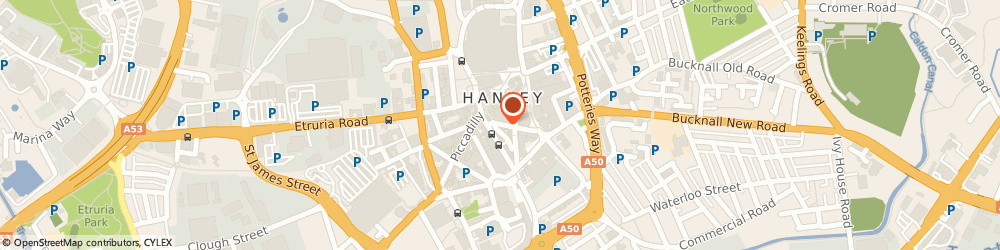 Route/map/directions to Wrench Fine Jewellery, ST1 1NA Stoke-On-Trent, 17 PERCY STREET