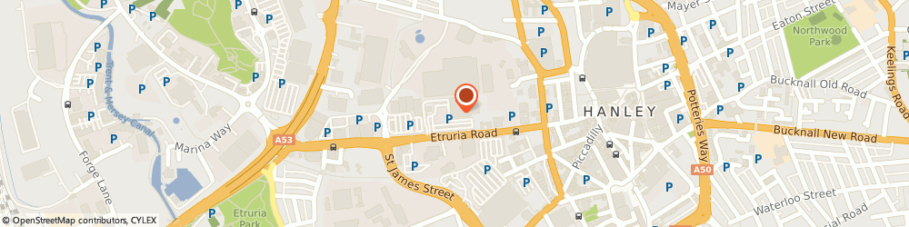 Route/map/directions to DPD Parcel Shop Location - Sainsbury's, ST1 5SA Stoke-On-Trent, Etruria Road