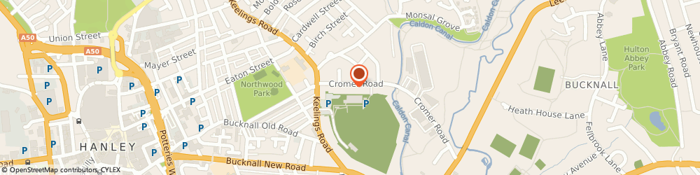 Route/map/directions to M O T Independent Tests, ST1 6QN Stoke-On-Trent, Cromer Rd