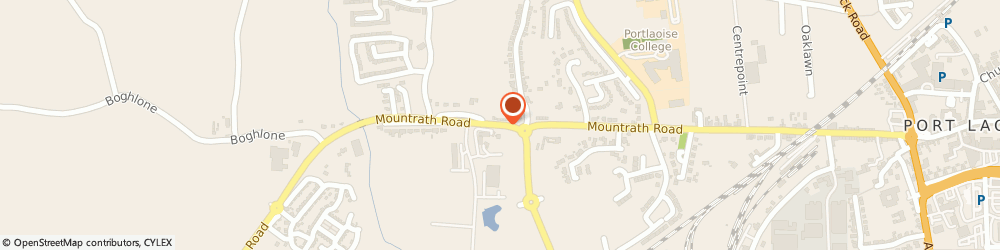 Route/map/directions to IRISH DAIRY SERVICES (PORTLAOISE) LIMITED,  Laois, Mountrath Road