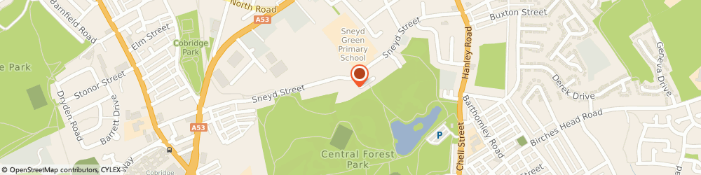 Route/map/directions to Wallace Contracts Ltd, ST6 2NP Stoke-On-Trent, Unit 1, Sneyd Business Park