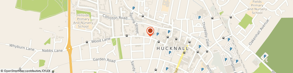 Route/map/directions to West Street Garage, NG15 7BY Hucknall, 26 West Street