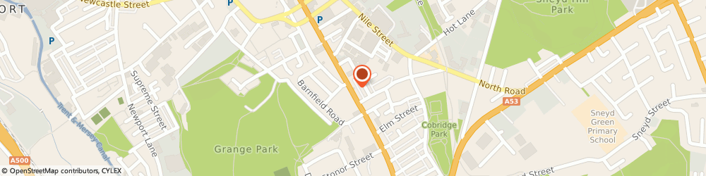 Route/map/directions to DPD Parcel Shop Location - Waterloo pharmacy (Numark), ST3 2NR Stoke-On-Trent, 68 The Strand