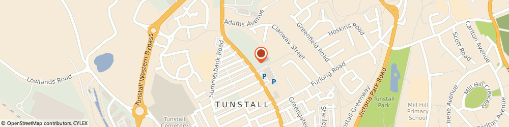 Route/map/directions to LLOYDS TUNSTALL TEST CENTRE of Stoke-on-Trent, ST6 5JW Stoke-On-Trent, 380 High St, Tunstall