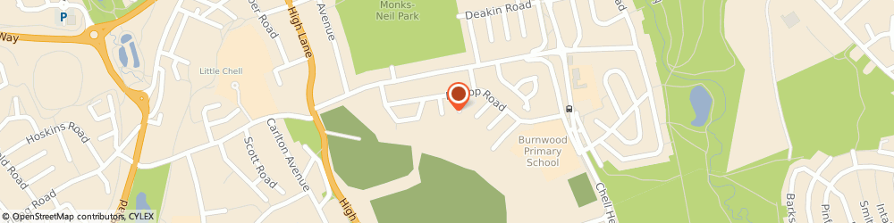 Route/map/directions to Ideal Driveways, ST6 6NT Stoke-On-Trent, 9 Burnwood Place